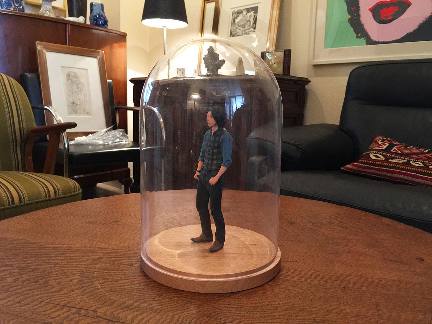 3Dフィギュアを展示して飾るのに最適なコレクションケース