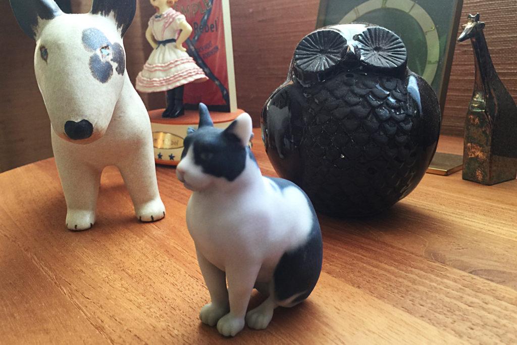 猫ちゃんのフィギュア!